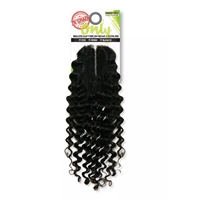 Zury Sis Only Unprocessed Brazilian Human Hair ONLY BRZ Closure Pineapple 12""