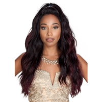 "Glamourtress, wigs, weaves, braids, half wigs, full cap, hair, lace front, hair extension, nicki minaj style, Brazilian hair, crochet, hairdo, wig tape, remy hair, Lace Front Wigs, Remy Hair,Zury Prime Collection Human Hair Blend 13x4"" Free-Part Lace"