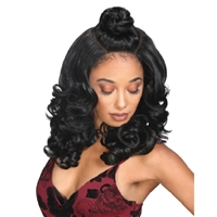 Glamourtress, wigs, weaves, braids, half wigs, full cap, hair, lace front, hair extension, nicki minaj style, Brazilian hair, crochet, hairdo, wig tape, remy hair, Lace Front Wigs, Zury Sis Beyond Synthetic Hair Moon Part Lace Wig - BYD MP Lace H KENZIE