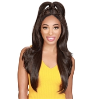 Glamourtress, wigs, weaves, braids, half wigs, full cap, hair, lace front, hair extension, nicki minaj style, Brazilian hair, crochet, hairdo, wig tape, remy hair, Lace Front Wigs, Zury Sis Beyond Synthetic Twin Part Lace Front Wig - BYD MP LACE H BAO