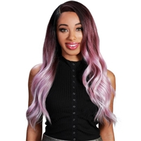 Glamourtress, wigs, weaves, braids, half wigs, full cap, hair, lace front, hair extension, nicki minaj style, Brazilian hair, crochet, hairdo, wig tape, remy hair, Lace Front Wigs, Zury Sis Synthetic 360 Lace Free Part Wig - 360 LACE H JALYN
