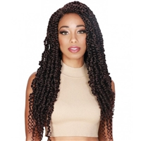 Glamourtress, wigs, weaves, braids, half wigs, full cap, hair, lace front, hair extension, nicki minaj style, Brazilian hair, crochet, hairdo, wig tape, remy hair, Lace Front Wigs, Zury Sis Synthetic Hair Lace Front Wig - DIVA LACE PASSION TWIST