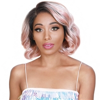 Glamourtress, wigs, weaves, braids, half wigs, full cap, hair, lace front, hair extension, nicki minaj style, Brazilian hair, crochet, hairdo, wig tape, remy hair, Lace Front Wigs, Zury Sis Royal Swiss Lace Synthetic Hair Lace Front Wig - LACE H TEVA