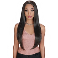 Glamourtress, wigs, weaves, braids, half wigs, full cap, hair, lace front, hair extension, nicki minaj style, Brazilian hair, crochet, hairdo, wig tape, remy hair, Lace Front Wigs, Zury Sis Prime Human Hair Blend Lace Front Wig - PM LACE VOLVO