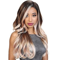 Glamourtress, wigs, weaves, braids, half wigs, full cap, hair, lace front, hair extension, nicki minaj style, Brazilian hair, crochet, hairdo, wig tape, remy hair, Lace Front Wigs, Remy Hair, Zury Sis The Dream Synthetic Hair Wig - DR H PETA