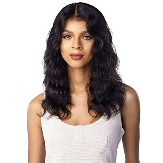 Glamourtress, wigs, weaves, braids, half wigs, full cap, hair, lace front, hair extension, nicki minaj style, Brazilian hair, crochet, hairdo, wig tape, remy hair, Lace Front Wigs, Sensationnel 100% Virgin Human Hair 10A Lace Front Wig - Natural Wave Bob