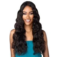 Glamourtress, wigs, weaves, braids, half wigs, full cap, hair, lace front, hair extension, nicki minaj style, Brazilian hair, crochet, hairdo, wig tape, remy hair, Lace Front Wigs, Sensationnel 100% Virgin Human Hair 10A Lace Front Wig - Body Wave 26""