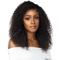 Glamourtress, wigs, weaves, braids, half wigs, full cap, hair, lace front, hair extension, nicki minaj style, Brazilian hair, crochet, hairdo, wig tape, remy hair, Lace Front Wigs, Sensationnel 100% Virgin Human Hair 10A Lace Front Wig - Bohemian 20""