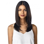Glamourtress, wigs, weaves, braids, half wigs, full cap, hair, lace front, hair extension, nicki minaj style, Brazilian hair, crochet, hairdo, wig tape, remy hair, Lace Front Wigs, Sensationnel 100% Virgin Human Hair 10A Lace Front Wig - Straight