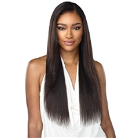 Glamourtress, wigs, weaves, braids, half wigs, full cap, hair, lace front, hair extension, nicki minaj style, Brazilian hair, crochet, hairdo, wig tape, remy hair, Lace Front Wigs, Sensationnel 100% Virgin Human Hair 10A Lace Front Wig - Straight 28""
