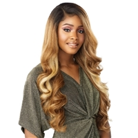Glamourtress, wigs, weaves, braids, half wigs, full cap, hair, lace front, hair extension, nicki minaj style, Brazilian hair, crochet, hairdo, wig tape, remy hair, Lace Front Wigs, Sensationnel Synthetic Hair Butta HD Lace Front Wig - BUTTA UNIT 7