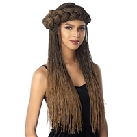 Glamourtress, wigs, weaves, braids, half wigs, full cap, hair, lace front, hair extension, nicki minaj style, Brazilian hair, crochet, hairdo, wig tape, remy hair, Sensationnel Synthetic Cloud9 4x4 Lace Part Swiss Lace Front Wig - MICRO TWIST