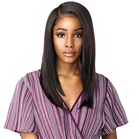 Glamourtress, wigs, weaves, braids, half wigs, full cap, hair, lace front, hair extension, nicki minaj style, Brazilian hair, crochet, wig tape, remy hair, Lace Front Wigs, Sensationnel Synthetic Cloud 9 13x6 What Lace Swiss Lace Front Wig - Kiyari