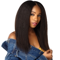 Glamourtress, wigs, weaves, braids, half wigs, full cap, hair, lace front, hair extension, nicki minaj style, Brazilian hair, crochet, hairdo, Sensationnel Curls Kinks & Co Clip-in HH 9PCS - 1C Clique
