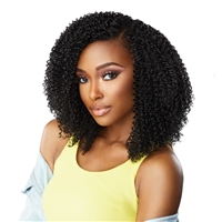 Glamourtress, wigs, weaves, braids, half wigs, full cap, hair, lace front, hair extension, nicki minaj style, Brazilian hair, crochet, hairdo, Sensationnel Curls Kinks & Co Synthetic Hair Clip-Ins 9PCS - GAME CHANGER 10