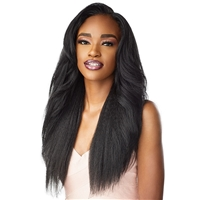 Glamourtress, wigs, weaves, braids, half wigs, full cap, hair, lace front, hair extension, nicki minaj style, Brazilian hair, crochet, hairdo, wig tape, remy hair, Sensationnel Synthetic Cloud 9 Swiss Lace What Lace 13x6 Frontal HD Lace Wig - DASHA