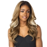 Glamourtress, wigs, weaves, braids, half wigs, full cap, hair, lace front, hair extension, nicki minaj style, Brazilian hair, crochet, hairdo, wig tape, remy hair, Sensationnel Synthetic Cloud 9 Swiss Lace What Lace 13x6 Frontal HD Lace Wig - ZELENA