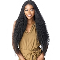 Glamourtress, wigs, weaves, braids, half wigs, full cap, hair, lace front, hair extension, nicki minaj style, Brazilian hair, crochet, hairdo, Sensationnel Synthetic Cloud9 Swiss Lace What Lace 360 13x4 Frontal Lace Wig - TASIA SLEEK PONYTAIL