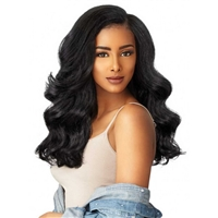 Glamourtress, wigs, weaves, braids, half wigs, full cap, hair, lace front, hair extension, nicki minaj style, Brazilian hair, crochet, hairdo, wig tape, Lace Front Wigs, Sensationnel Curls Kinks & Co Synthetic Hair Empress Lace Front Wig - HEAD TURNER