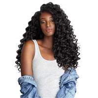 Glamourtress, wigs, weaves, braids, half wigs, full cap, hair, lace front, hair extension, nicki minaj style, Brazilian hair, crochet, hairdo, wig tape, Lace Front Wigs, Sensationnel Curls Kinks & Co Synthetic Hair Empress Lace Front Wig - WILD ONE