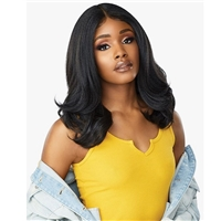 Glamourtress, wigs, weaves, braids, half wigs, full cap, hair, lace front, hair extension, nicki minaj style, Brazilian hair, crochet, hairdo, wig tape, Lace Front Wigs, Sensationnel Curls Kinks & Co Synthetic Hair Empress Lace Front Wig - ELITE BABE