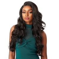 Glamourtress, wigs, weaves, braids, half wigs, full cap, hair, lace front, hair extension, nicki minaj style, Brazilian hair, crochet, hairdo, wig tape, remy hair, Sensationnel Synthetic Cloud9 Swiss Lace What Lace 13x6 Frontal Lace Wig - CELESTE
