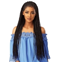 Glamourtress, wigs, weaves, braids, half wigs, full cap, hair, lace front, hair extension, nicki minaj style, Brazilian hair, crochet, hairdo, wig tape, remy hair, Sensationnel Cloud 9 Synthetic Hair 13x5 Lace Parting Swiss Lace Wig - SIDE PART CORNROW