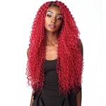 Glamourtress, wigs, weaves, braids, half wigs, full cap, hair, lace front, hair extension, nicki minaj style, Brazilian hair, crochet, hairdo, wig tape, remy hair, Sensationnel Synthetic Hair Empress Natural Center Part Lace Front Wig - DARCIE