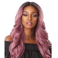 Glamourtress, wigs, weaves, braids, half wigs, full cap, hair, lace front, hair extension, nicki minaj style, Brazilian hair, crochet, hairdo, wig tape, remy hair, Sensationnel Synthetic Hair Empress 3 Way Free Part Lace Front Wig - JOCELYN