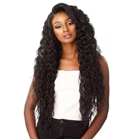 Glamourtress, wigs, weaves, braids, half wigs, full cap, hair, lace front, hair extension, nicki minaj style, Brazilian hair, crochet, hairdo, wig tape, remy hair, Sensationnel Synthetic Cloud 9 Swiss Lace What Lace 13x6 Frontal Lace Wig - REYNA