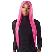 Glamourtress, wigs, weaves, braids, half wigs, full cap, hair, lace front, hair extension, nicki minaj style, Brazilian hair, crochet, hairdo, wig tape, remy hair, Sensationnel Shear Muse Synthetic Hair Empress Lace Front Wig -LACHAN
