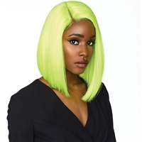 Glamourtress, wigs, weaves, braids, half wigs, full cap, hair, lace front, hair extension, nicki minaj style, Brazilian hair, crochet, hairdo, wig tape, remy hair, Sensationnel Shear Muse Synthetic Hair Empress Lace Front Wig -MAKAYLA