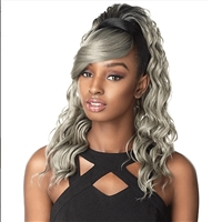 Glamourtress, wigs, weaves, braids, half wigs, full cap, hair, lace front, hair extension, nicki minaj style, Brazilian hair, crochet, hairdo, wig tape, remy hair, Lace Front Wigs, Remy Hair, Sensationnel Synthetic Hair DrawString Ponytail Instant Pony An