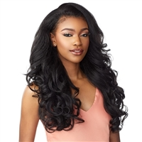 Glamourtress, wigs, weaves, braids, half wigs, full cap, hair, lace front, hair extension, nicki minaj style, Brazilian hair, crochet, hairdo, wig tape, remy hair, Sensationnel Synthetic Half Wig Instant Weave Drawstring Cap - IWD 3