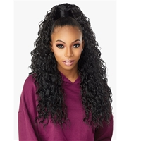 Glamourtress, wigs, weaves, braids, half wigs, full cap, hair, lace front, hair extension, nicki minaj style, Brazilian hair, crochet, hairdo, wig tape, remy hair, Sensationnel Instant Up & Down (Half Wig + Ponytail) - UD 2