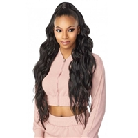 Glamourtress, wigs, weaves, braids, half wigs, full cap, hair, lace front, hair extension, nicki minaj style, Brazilian hair, crochet, hairdo, wig tape, remy hair, Sensationnel Instant Up & Down (Half Wig + Ponytail) - UD 5