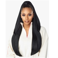 Glamourtress, wigs, weaves, braids, half wigs, full cap, hair, lace front, hair extension, nicki minaj style, Brazilian hair, crochet, hairdo, wig tape, remy hair, Sensationnel Instant Up & Down (Half Wig + Ponytail) - UD 8