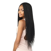 Glamourtress, wigs, weaves, braids, half wigs, full cap, hair, lace front, hair extension, nicki minaj style, Brazilian hair, crochet, hairdo, wig tape, remy hair, Lace Front Wigs, Remy Hair, Sensationnel Lulutress Synthetic Braid - 3X MICRO BOX BRAID 24""