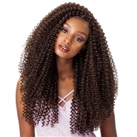Glamourtress, wigs, weaves, braids, half wigs, full cap, hair, lace front, hair extension, nicki minaj style, Brazilian hair, crochet, hairdo, wig tape, remy hair, Lace Front Wigs, Remy Hair, Sensationnel Lulutress Synthetic Braid - 3X WATER WAVE 20