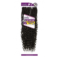 Glamourtress, wigs, weaves, braids, half wigs, full cap, hair, lace front, hair extension, nicki minaj style, Brazilian hair, crochet, hairdo, wig tape, remy hair, Lace Front Wigs, Sensationnel Lulutress Synthetic Braid - 3X BOHEMIAN LOCS 20