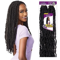 Glamourtress, wigs, weaves, braids, half wigs, full cap, hair, lace front, hair extension, nicki minaj style, Brazilian hair, crochet, hairdo, wig tape, remy hair, Lace Front Wigs, Remy Hair, Sensationnel Synthetic Lulutress Braids - 2X SKINNY BUTTERFLY L