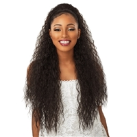 Glamourtress, wigs, weaves, braids, half wigs, full cap, hair, lace front, hair extension, nicki minaj style, Brazilian hair, crochet, hairdo, wig tape, remy hair, Lace Front Wigs, Remy Hair, Sensationnel Synthetic Ponytail Instant Pony - FRENCH WAVE 30