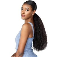 Glamourtress, wigs, weaves, braids, half wigs, full cap, hair, lace front, hair extension, nicki minaj style, Brazilian hair, crochet, hairdo, wig tape, remy hair, Lace Front Wigs, Remy Hair, Sensationnel Curls Kinks & C Synthetic Ponytail GAME CHANGER XL