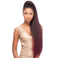 Glamourtress, wigs, weaves, braids, half wigs, full cap, hair, lace front, hair extension, nicki minaj style, Brazilian hair, crochet, hairdo, wig tape, remy hair, Lace Front Wigs, Remy Hair, Sensationnel Synthetic Ponytail Instant Pony - PERM YAKI 30