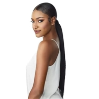 Glamourtress, wigs, weaves, braids, half wigs, full cap, hair, lace front, hair extension, Brazilian hair, crochet, hairdo, wig tape, remy hair, Lace Front Wigs, Remy Hair, Sensationnel Synthetic Ponytail Instant Pony Wrap - STRAIGHT 24