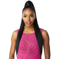 Glamourtress, wigs, weaves, braids, half wigs, full cap, hair, lace front, hair extension, Brazilian hair, crochet, hairdo, wig tape, remy hair, Lace Front Wigs, Remy Hair, Sensationnel Synthetic Ponytail Instant Pony Wrap - STRAIGHT 30