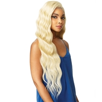 Glamourtress, wigs, weaves, braids, half wigs, full cap, hair, lace front, hair extension, nicki minaj style, Brazilian hair, hairdo, wig tape, remy hair, Lace Front Wigs, Sensationnel Synthetic Cloud 9 Swiss Lace What Lace 13x6 Frontal Lace Wig - LYANA