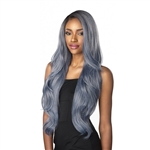 Glamourtress, wigs, weaves, braids, half wigs, full cap, hair, lace front, hair extension, nicki minaj style, Brazilian hair, crochet, hairdo, wig tape, remy hair, Sensationnel Synthetic Hair Empress Natural Deep Part Lace Front Wig - CLARISSA
