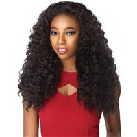 Glamourtress, wigs, weaves, braids, half wigs, full cap, hair, lace front, hair extension, nicki minaj style, Brazilian hair, crochet, hairdo, wig tape, remy hair, Sensationnel Synthetic Half Wig Instant Weave - AMANI