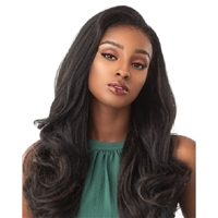 Glamourtress, wigs, weaves, braids, half wigs, full cap, hair, lace front, hair extension, nicki minaj style, Brazilian hair, crochet, hairdo, wig tape, remy hair, Sensationnel Synthetic Half Wig Instant Weave - IZZIE